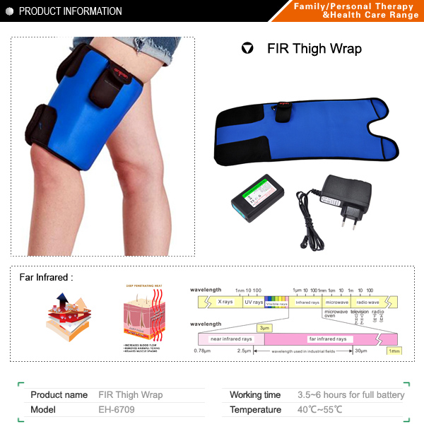 Far infrared Thigh wrap