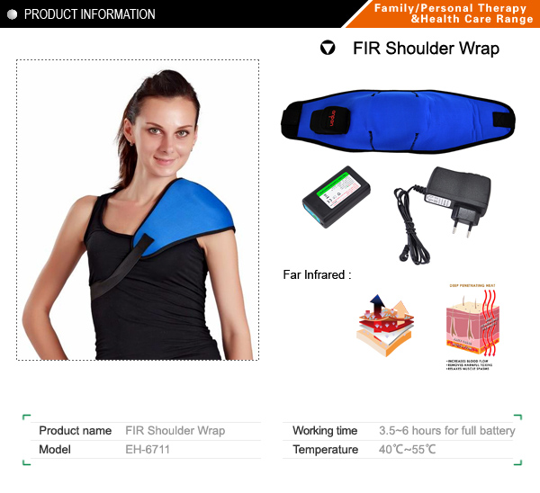 Far infrared Shoulder wrap