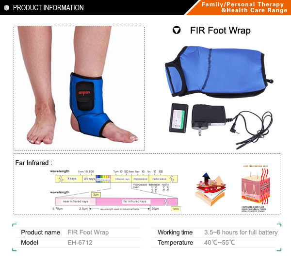 Far infrared  Foot wrap